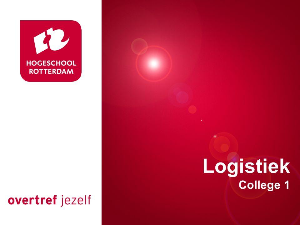 Presentatie titel Rotterdam, 00 januari 2007 Logistiek College 1
