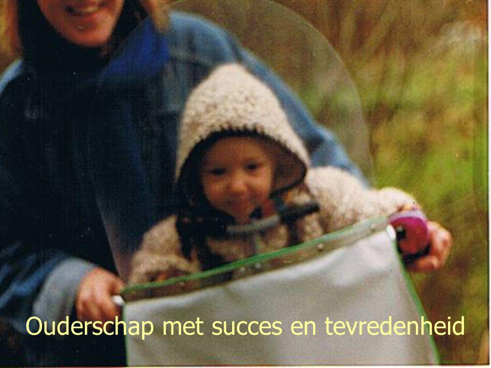 Lectoraat Rehabilitatie & Lentis Groningen Ouderschap met succes en tevredenheid