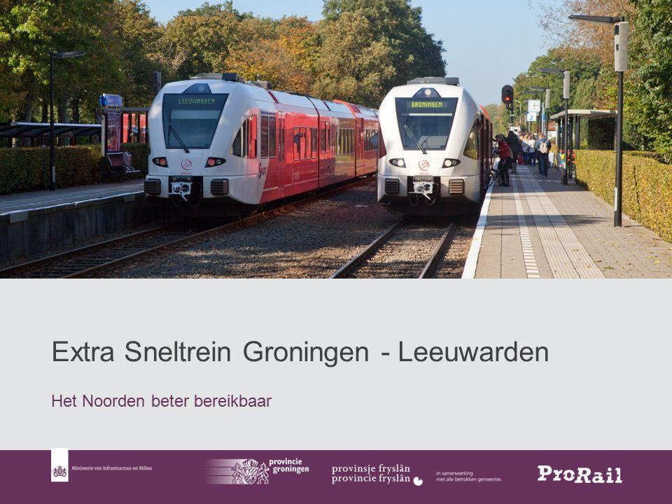 1 Extra Sneltrein Groningen - Leeuwarden Het Noorden beter bereikbaar