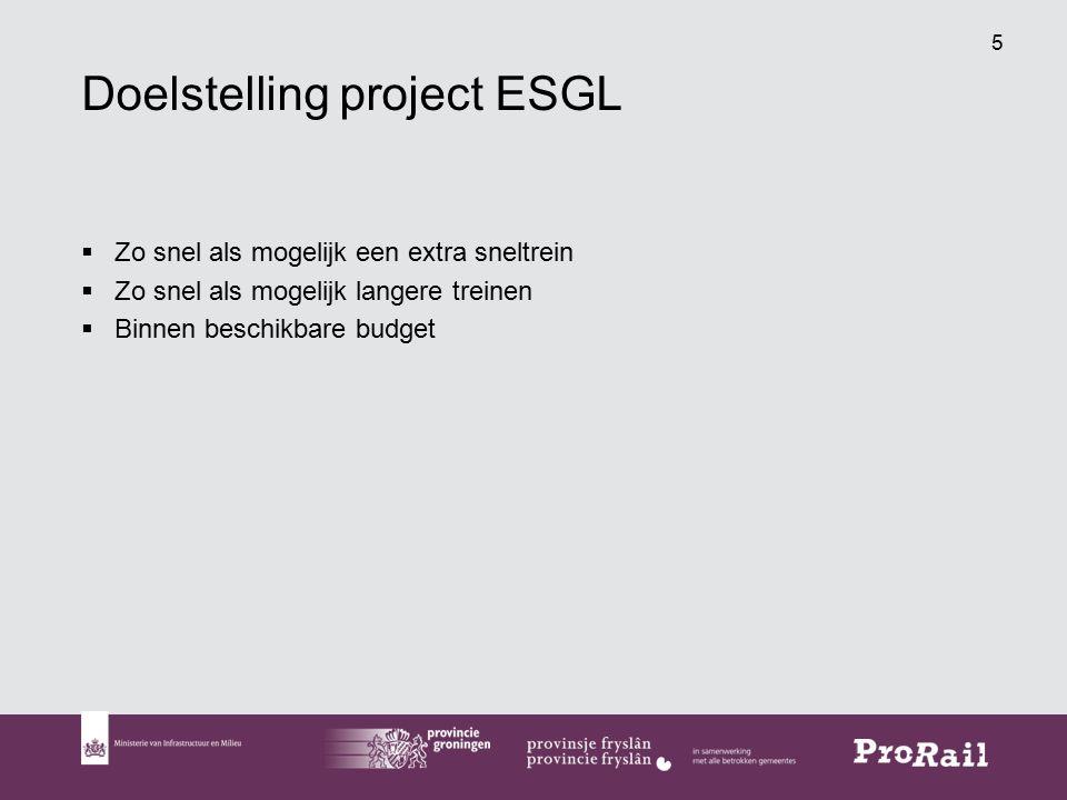 26 Contract Midden: doelstellingen 1.Op 2 september 2018 gereed zijn van de spoorinfrastructuur om de extra sneltrein in dienst te stellen.