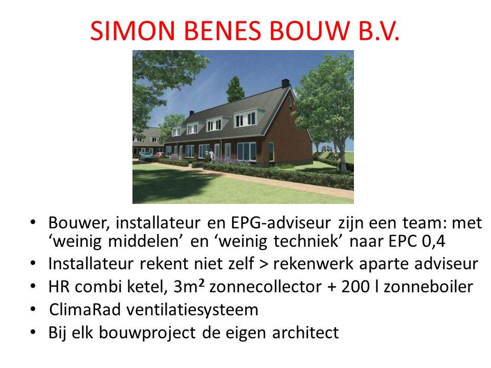 SIMON BENES BOUW B.V.