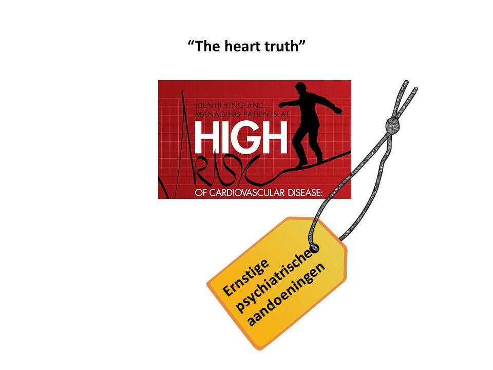 """""""The heart truth"""" Ernstige psychiatrische aandoeningen"""