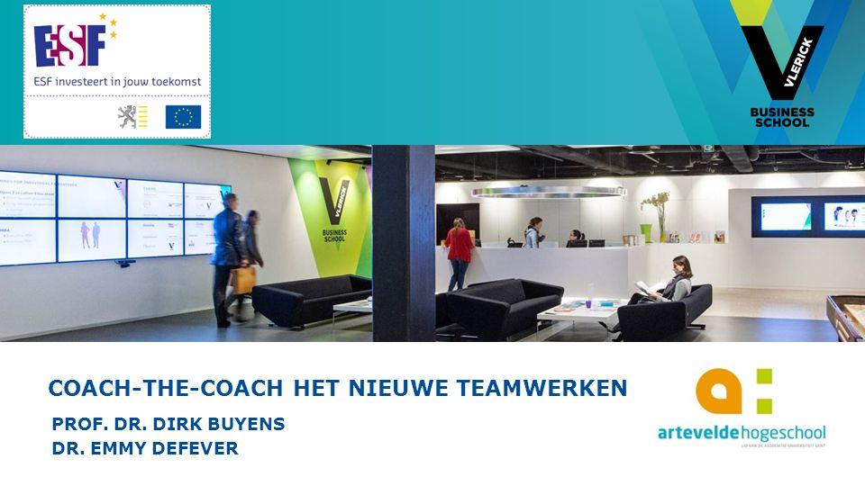 © Vlerick Business School TOOL 6: TOOLBOX ZELFSTURENDE TEAMS Ontwikkeld door de Vlaamse overheid.