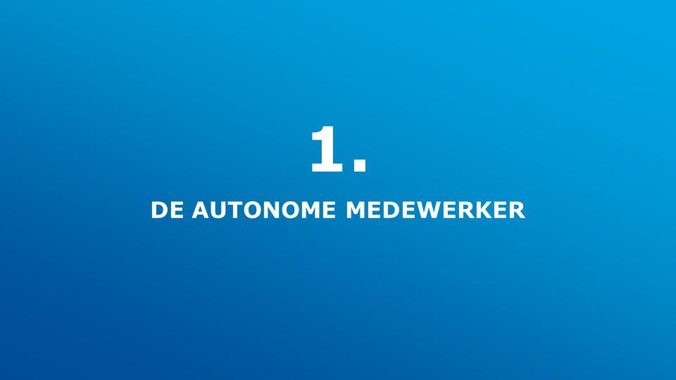 1. DE AUTONOME MEDEWERKER