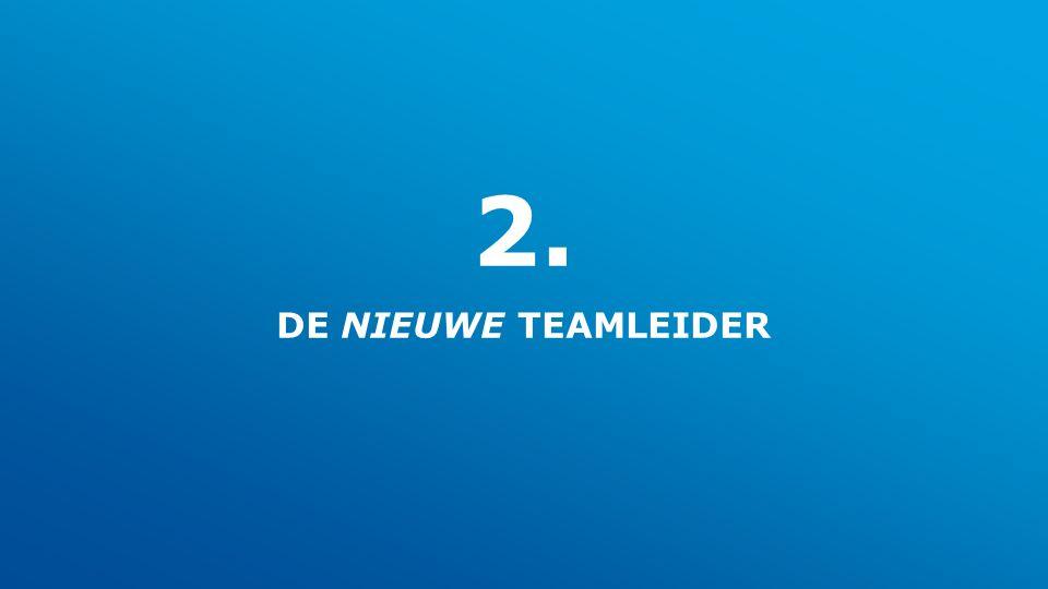 2. DE NIEUWE TEAMLEIDER