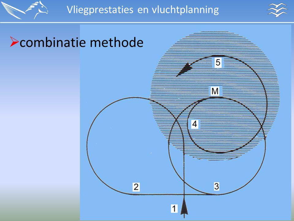 Vliegprestaties en vluchtplanning  combinatie methode