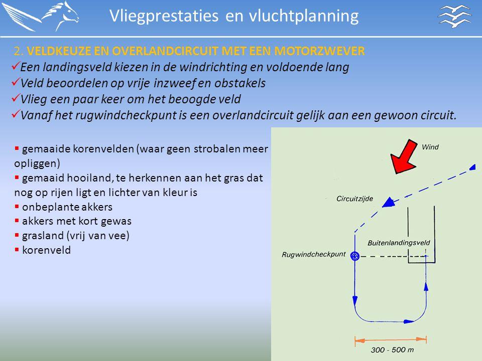 Vliegprestaties en vluchtplanning 2.