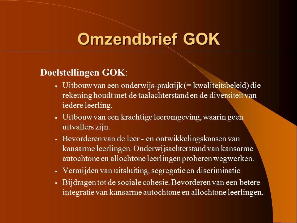 Het decreet GOK  Recht op inschrijving  De werking van de lokale overlegplatforms De commissie inzake leerlingenrechten  Geïntegreerd ondersteuning