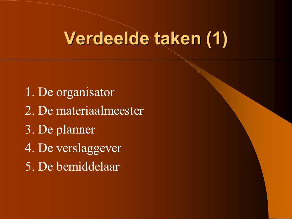 Verdeelde informatie (2) Voor elk van de zes thema's een bundeltje met: - Webschema - Kadertekst - Het thema uit het algemeen screeningsinstrument van