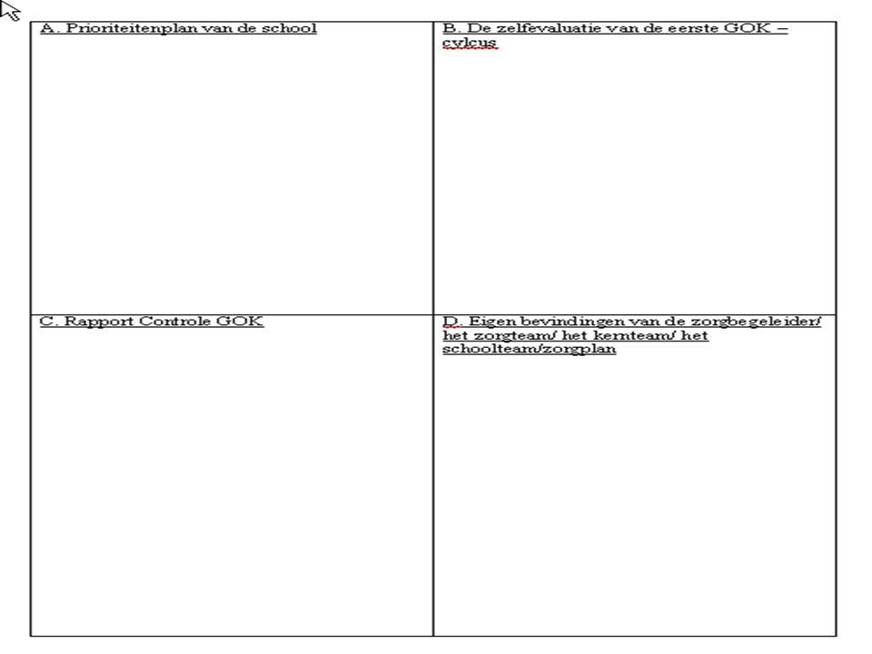  Verkort scenario 3  voor een analyse  van de beginsituatie