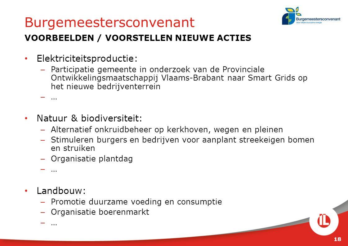 Elektriciteitsproductie: – Participatie gemeente in onderzoek van de Provinciale Ontwikkelingsmaatschappij Vlaams-Brabant naar Smart Grids op het nieu