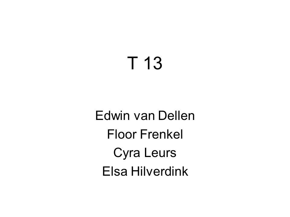 T 13 Edwin van Dellen Floor Frenkel Cyra Leurs Elsa Hilverdink