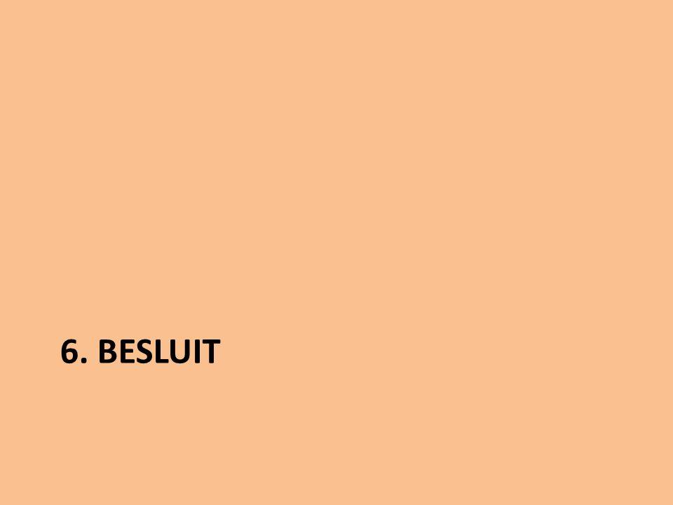 6. BESLUIT