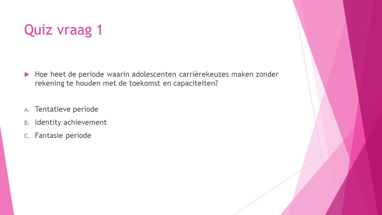 Antwoord quiz vraag 6  Wat zijn de primaire geslachtskenmerken.