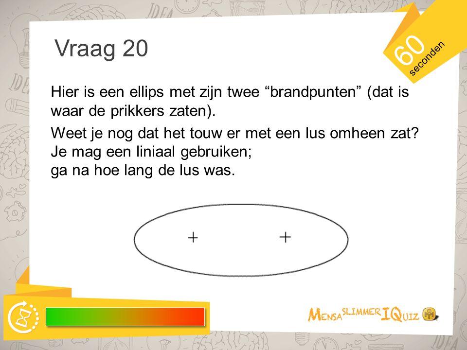 Voorbereiding vraag 20 Hier is een filmpje over hoe je een ellips tekent.