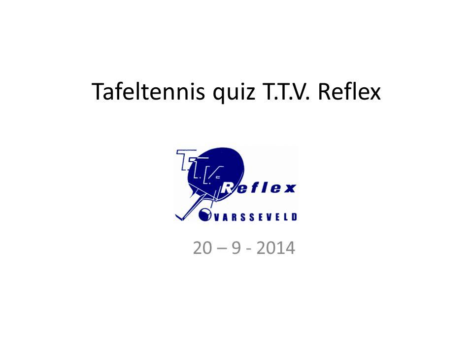 Vraag 10 In 1977 werd tafeltennis door IOC erkend als Olympische sport, in 1981 werd tafeltennis aan het programma toegevoegd, maar wanneer werd er daadwerkelijk getafeltennist op de olympische spelen .