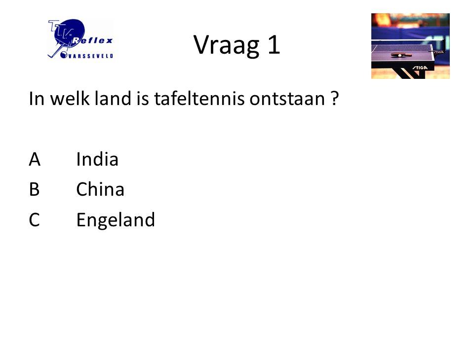 Vraag 12 Bettine Vriesekoop was een Nederlandse topspeelster, hoe vaak werd zij Nederlands kampioen .