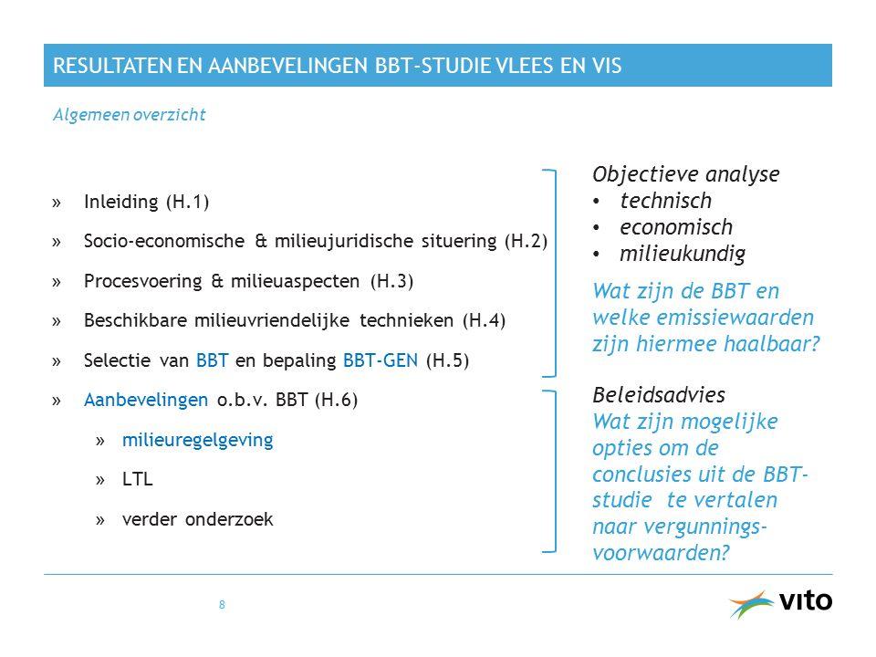 Objectieve analyse technisch economisch milieukundig Wat zijn de BBT en welke emissiewaarden zijn hiermee haalbaar? Beleidsadvies Wat zijn mogelijke o