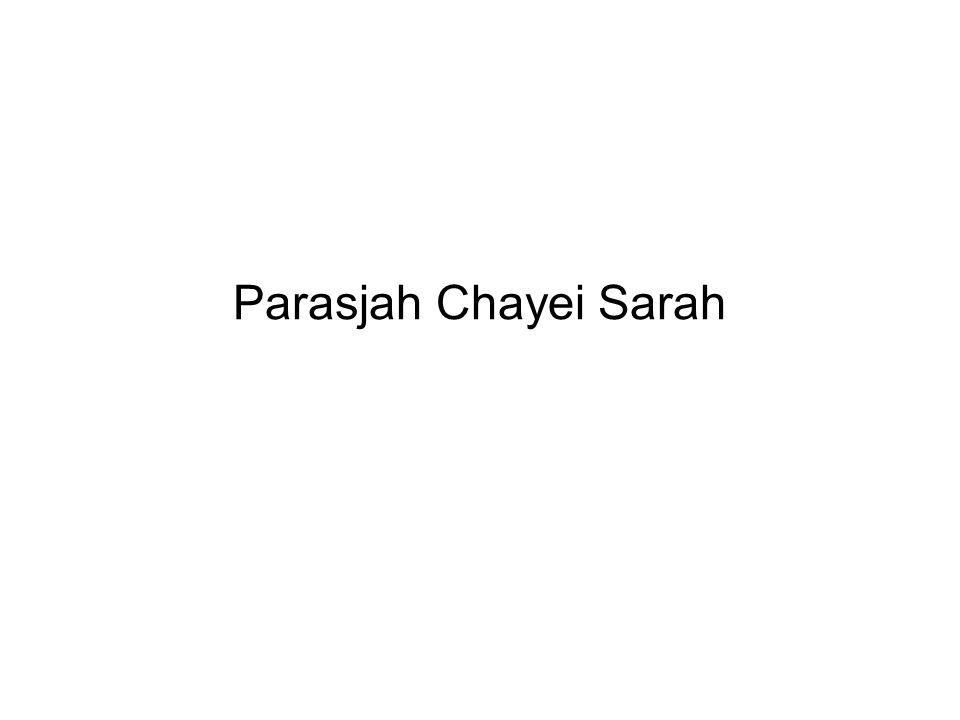 Parasjah Chayei Sarah