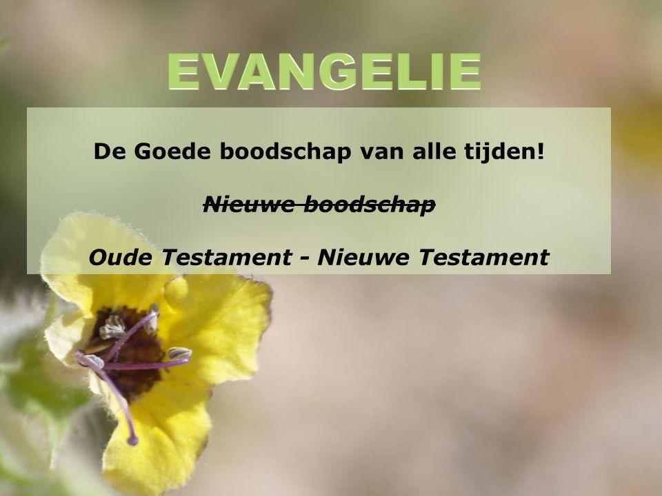 De Goede boodschap van alle tijden! Nieuwe boodschap Oude Testament - Nieuwe Testament