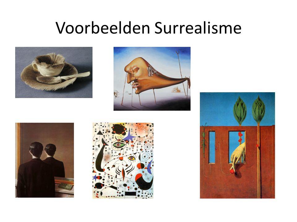 Voorbeelden Surrealisme