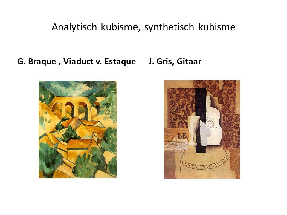 Futurisme Het moderne leven staat centraal Beweging en snelheid Kubistische fragmentering A.Sant`Elia G.