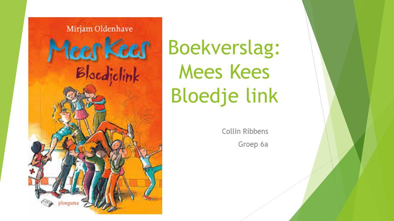 Boekverslag: Mees Kees Bloedje link Collin Ribbens Groep 6a