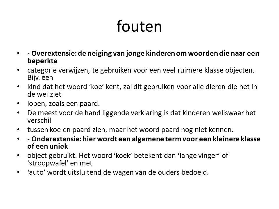 Handige site en huiswerkopdracht http://kindentaal.logopedie.nl/site/kind Opdracht Bekijk op je stage plaats hoe er wordt omgegaan met: Tweetaligheid VVE programma taal ontwikkeling Ouders kunnen kind stimuleren.