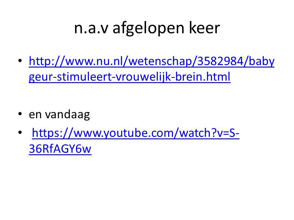 n.a.v afgelopen keer http://www.nu.nl/wetenschap/3582984/baby geur-stimuleert-vrouwelijk-brein.html http://www.nu.nl/wetenschap/3582984/baby geur-stim