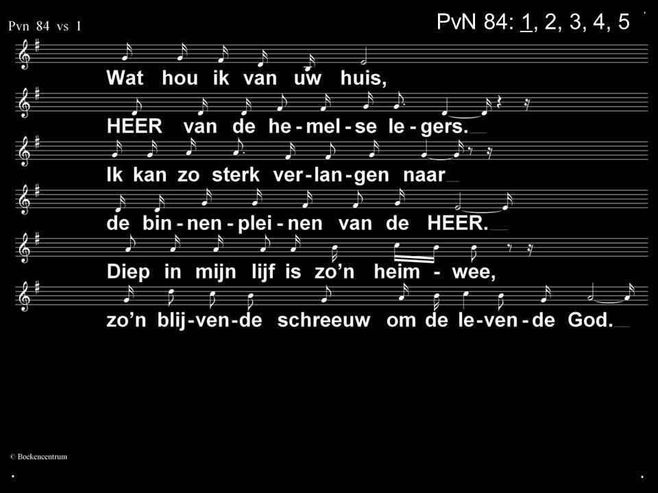 ... PvN 84: 1, 2, 3, 4, 5