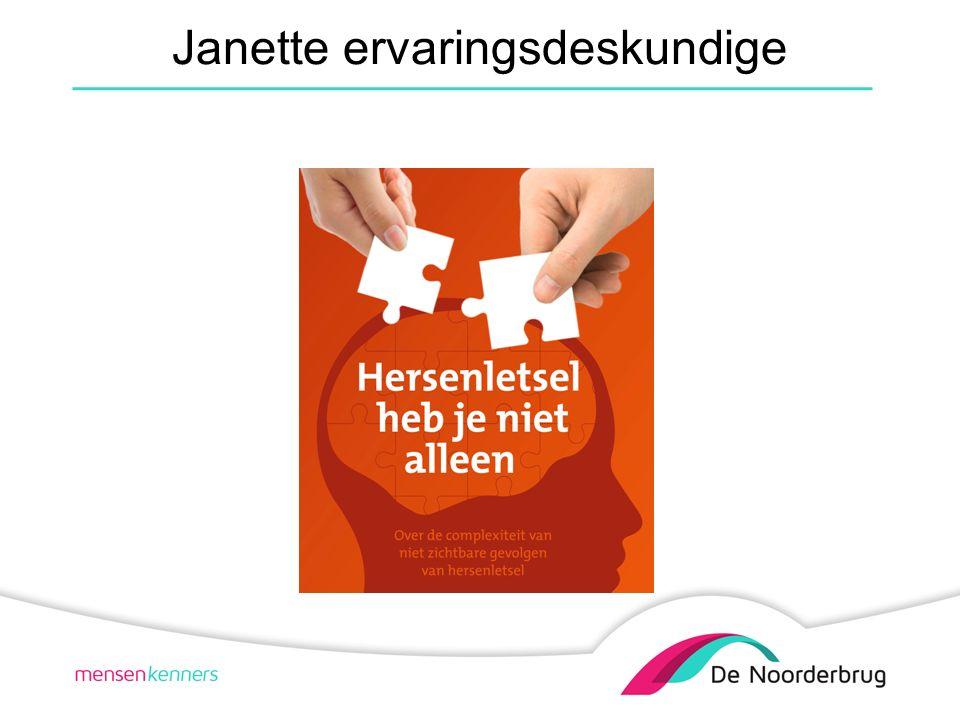 Janette ervaringsdeskundige