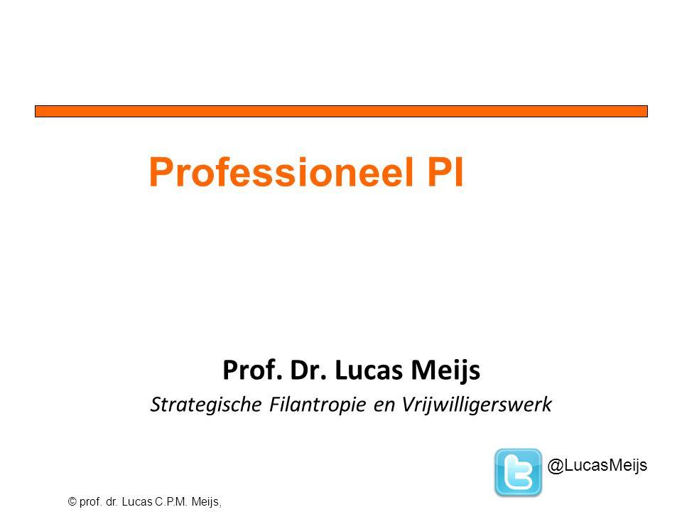 © prof. dr. Lucas C.P.M. Meijs, Prof. Dr.