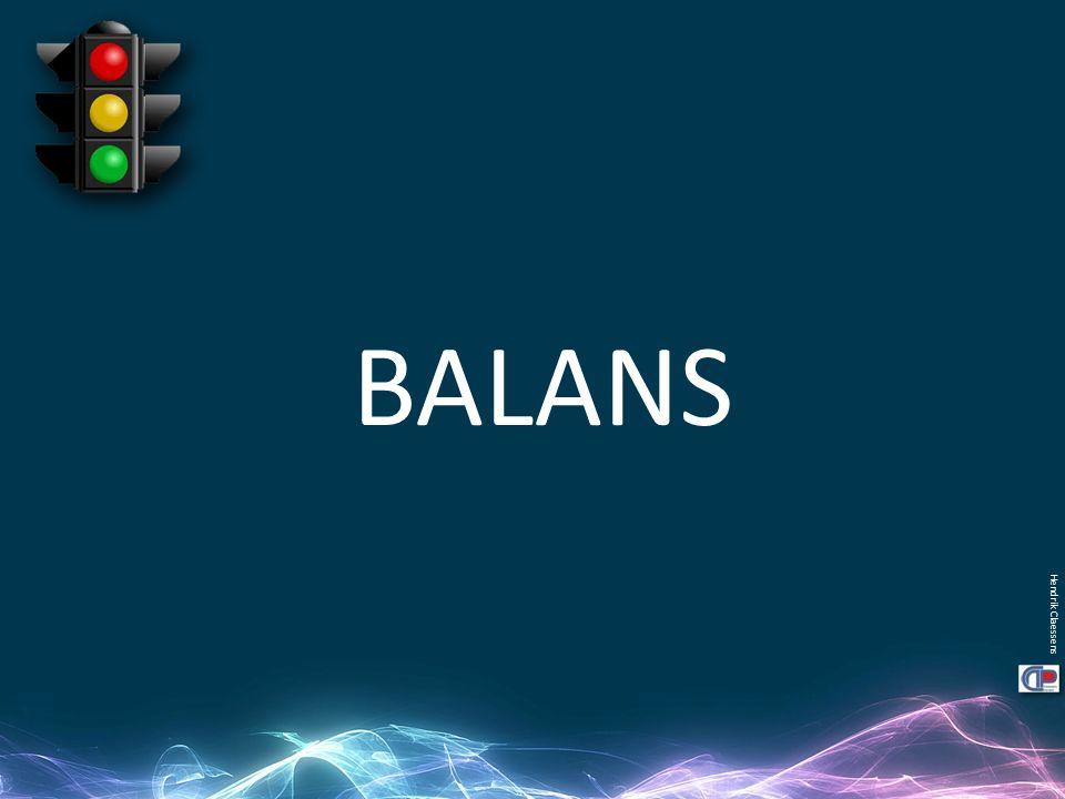 Hendrik Claessens BALANS