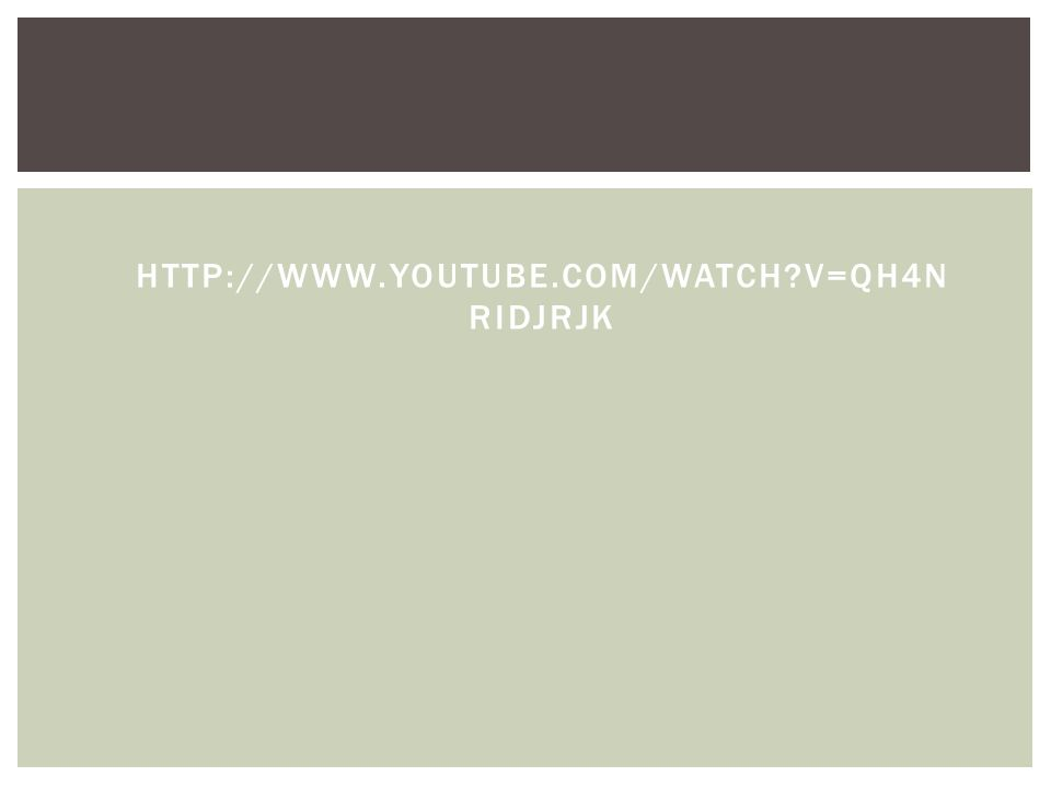 HTTP://WWW.YOUTUBE.COM/WATCH V=QH4N RIDJRJK