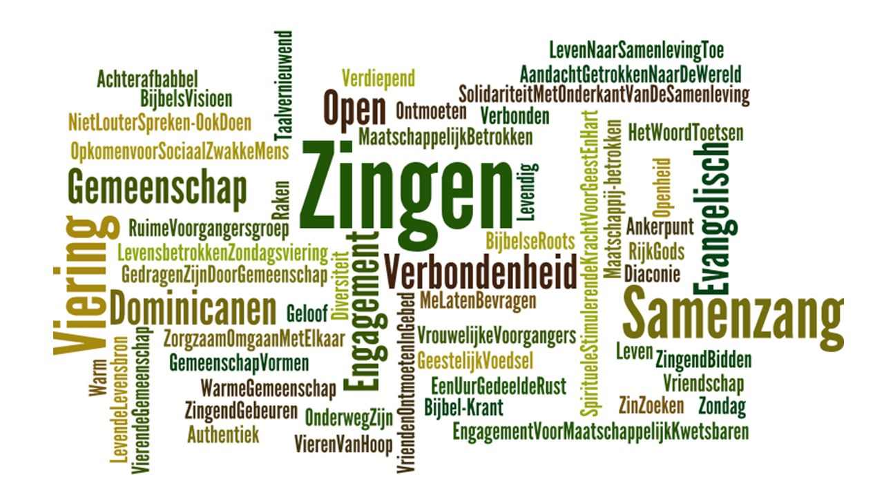 wordle 24 oktober 2015 Dominicus Gent 2