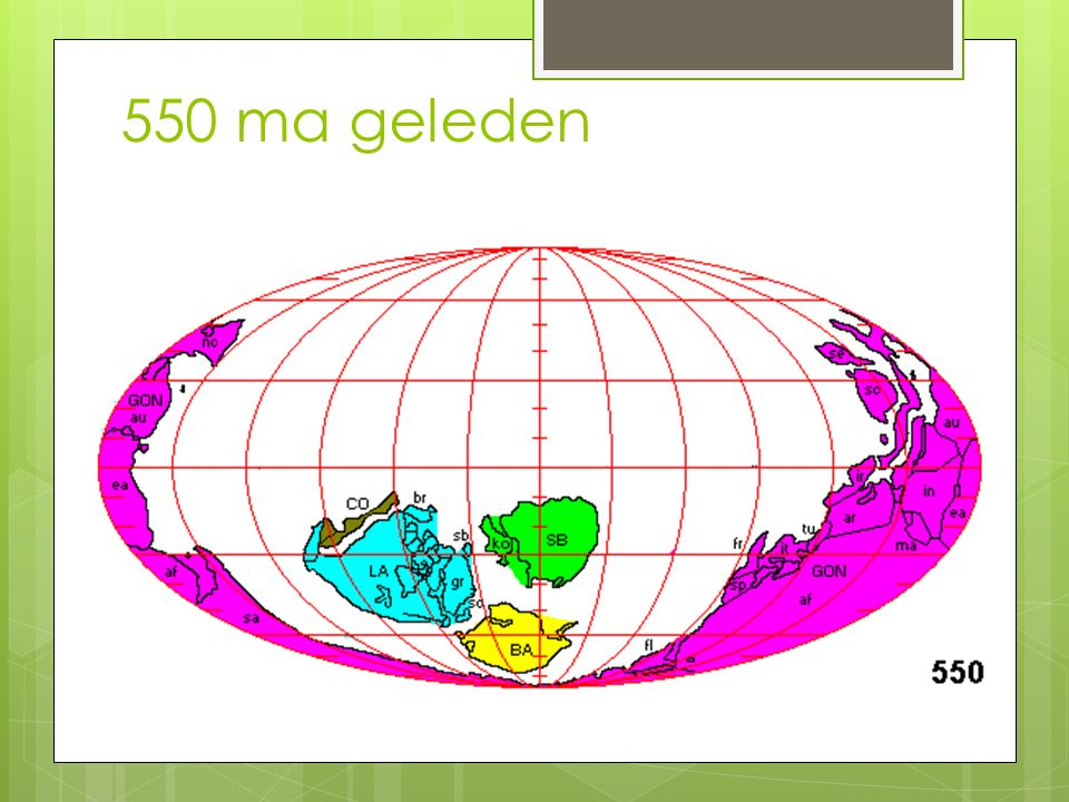 550 ma geleden