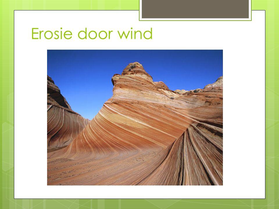 Erosie door wind