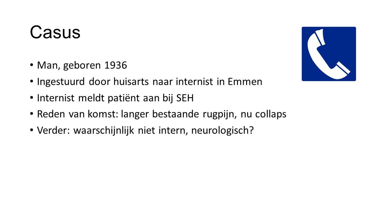 Vroeger - heroïek Radioloog en echo-apparaat Zo snel mogelijk.