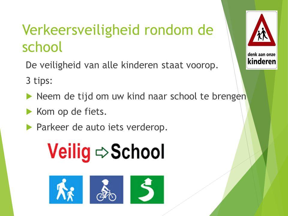 Verkeersveiligheid rondom de school De veiligheid van alle kinderen staat voorop.