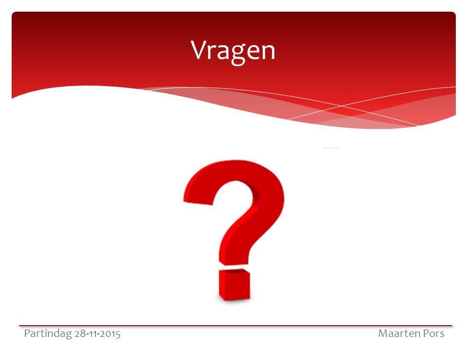 Vragen Partindag 28-11-2015 Maarten Pors