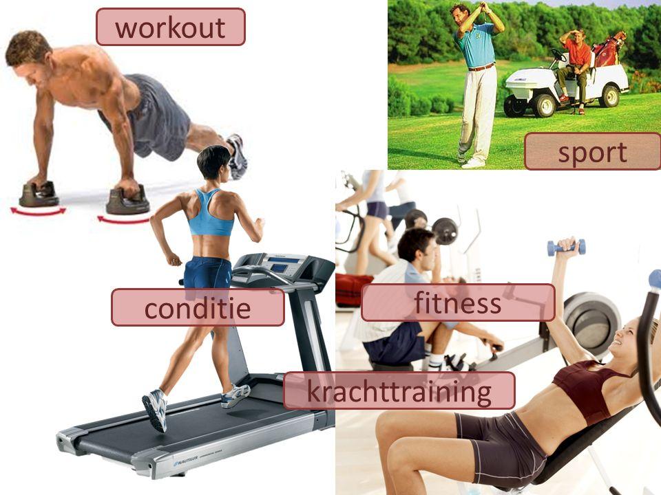 workout sport krachttraining conditie fitness