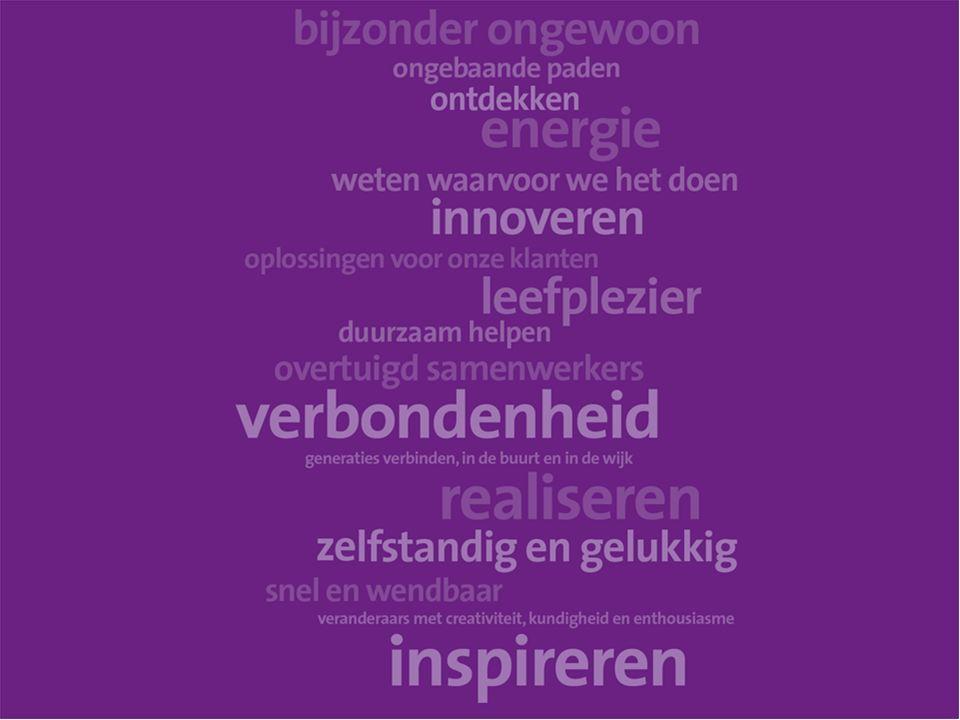 De Medewerker Onze mensen zijn ons kapitaal, onze ambassadeurs We investeren in betrokken en nieuwsgierige professionals