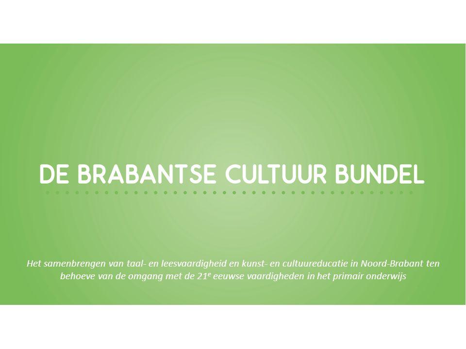 Het samenbrengen van taal- en leesvaardigheid en kunst- en cultuureducatie in Noord-Brabant ten behoeve van de omgang met de 21 e eeuwse vaardigheden in het primair onderwijs