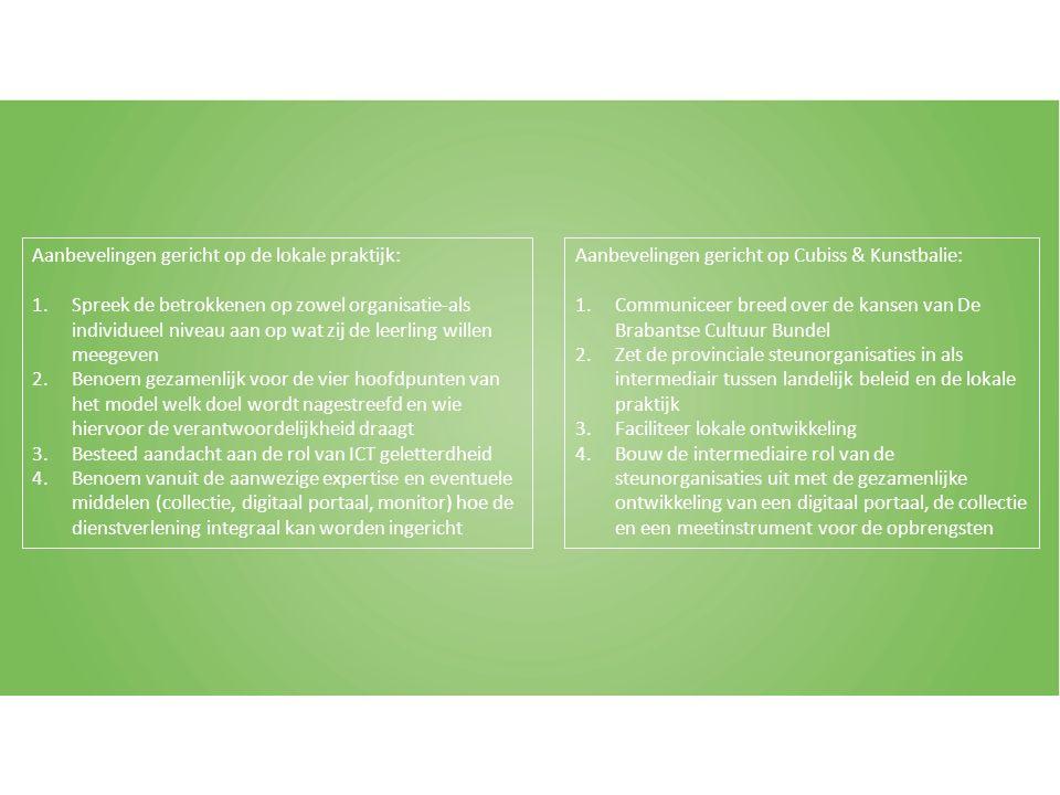 Het samenbrengen van taal- en leesvaardigheid en kunst- en cultuureducatie in Noord-Brabant ten behoeve van de omgang met de 21 e eeuwse vaardigheden in het primair onderwijs ?