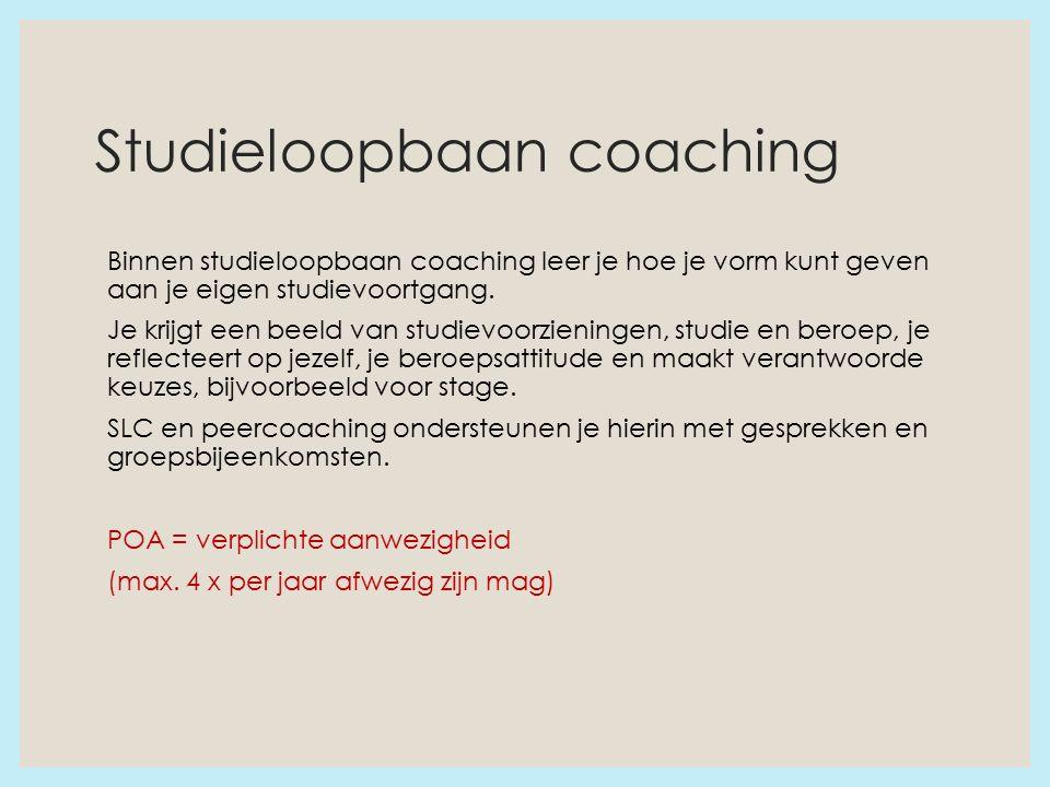 Studieloopbaan coaching Binnen studieloopbaan coaching leer je hoe je vorm kunt geven aan je eigen studievoortgang.