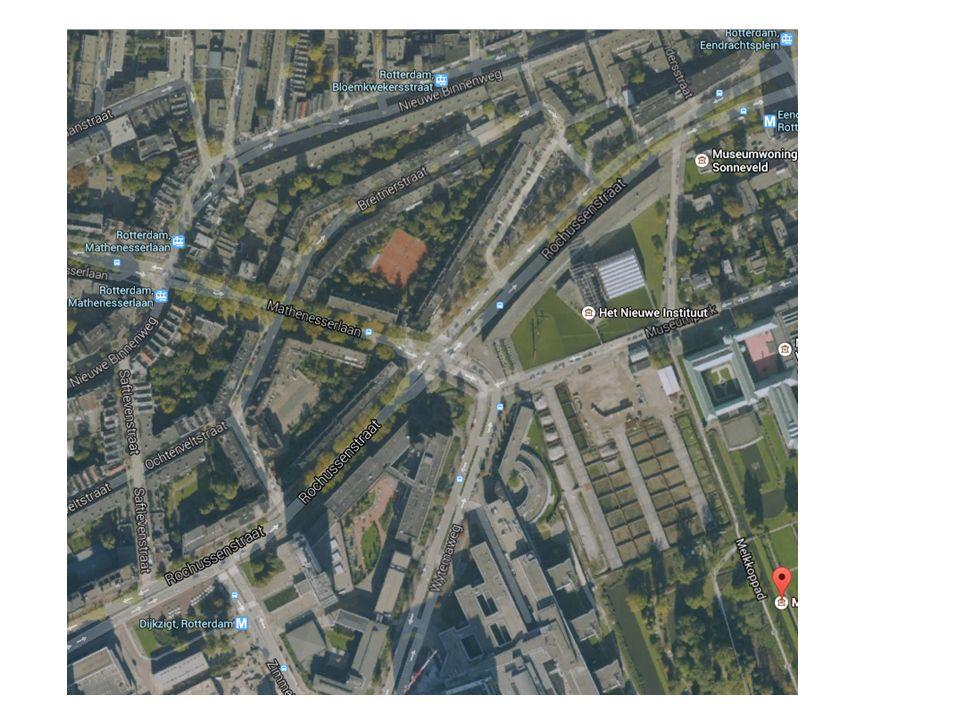 Opgave met een plaatje (duo's) Op de volgende hand-out staat een kaart van hetzelfde gebied, op dezelfde schaal.