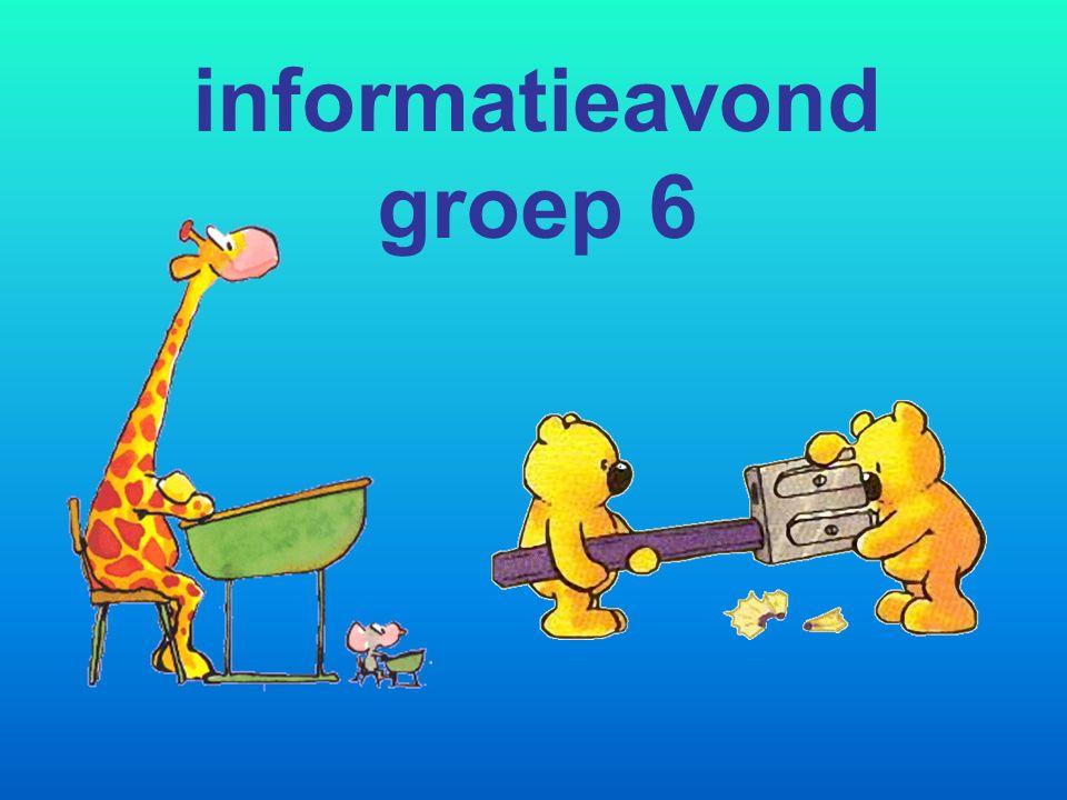 informatieavond groep 6