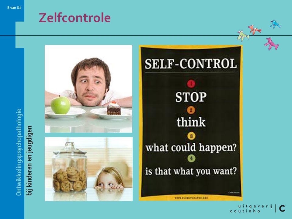 5 van 31 Zelfcontrole