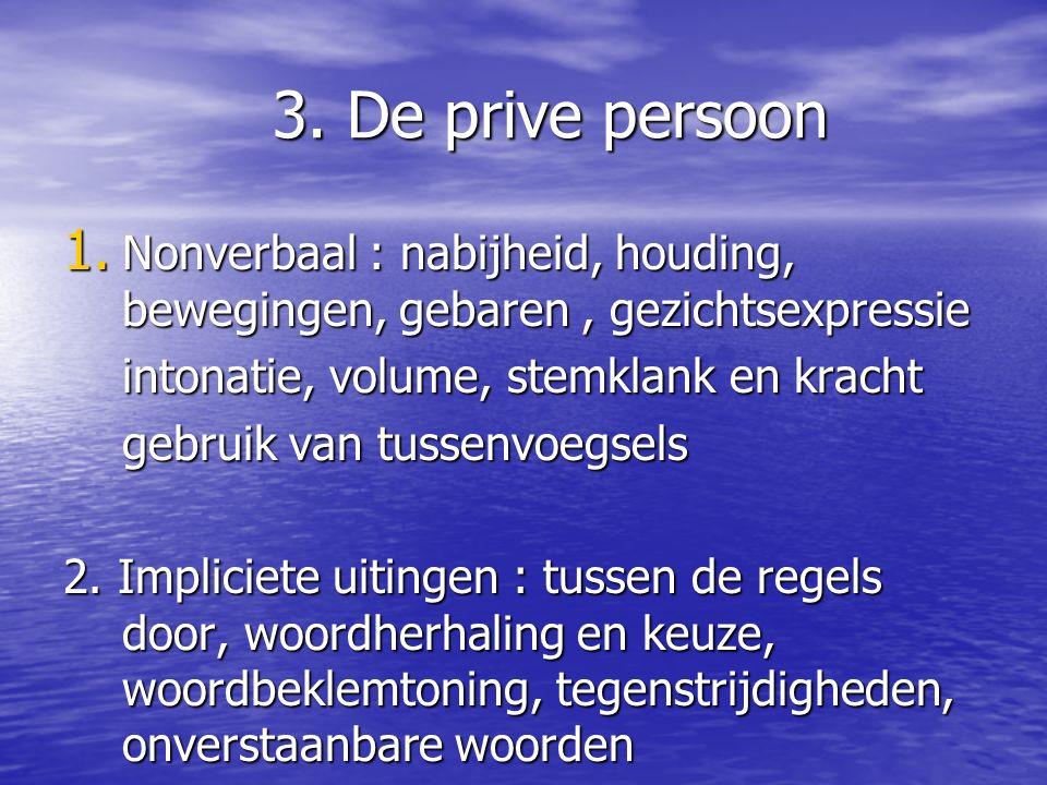 3.De prive persoon 1.