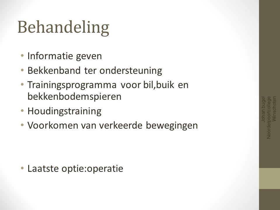 Artrose Johan bugel Noorderpoortcollege Winschoten